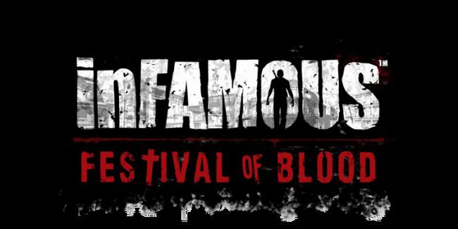 InFAMOUS; Festival of Blood logo