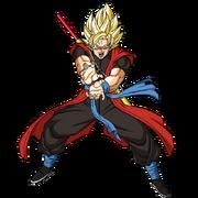 Dragon Ball Xeno SSJ Goku (Render)
