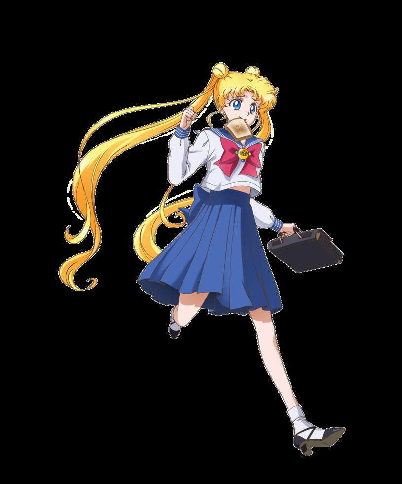 Sailor Moon Crystal Usagi Tsukino Render By