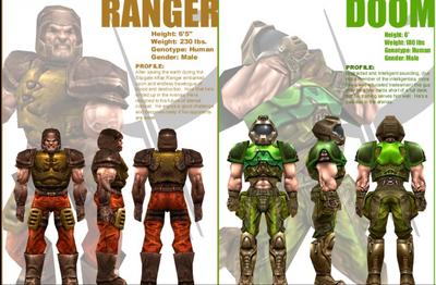 Quake Champions But 100 Classic Ranger Vs Doomguy Vs Battles