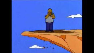 Simpsons - Trampoline Cliff
