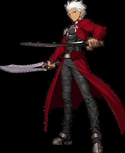 Fate Grand Order Archer 1st Ascension