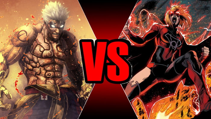 Maddening Rage! Asura vs Supergirl (Post-Flashpoint) | VS