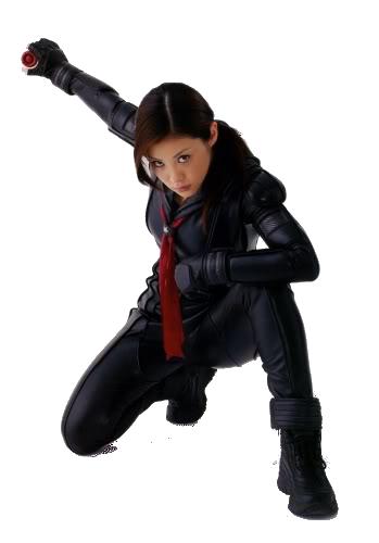 Aya as Saki in Yo-Yo Girl Cop Render2