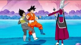 DB Super - Goku & Vegeta Training With Whis (Part 1)