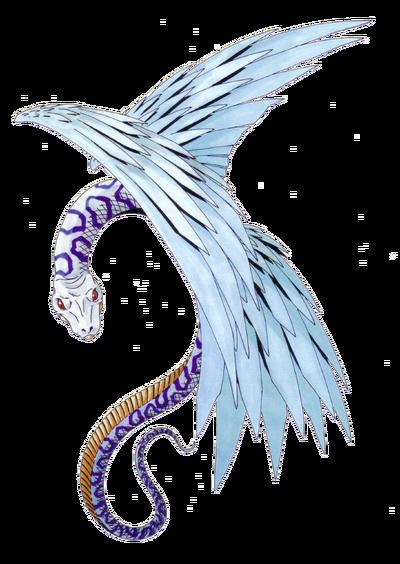 Feathered Serprent Render