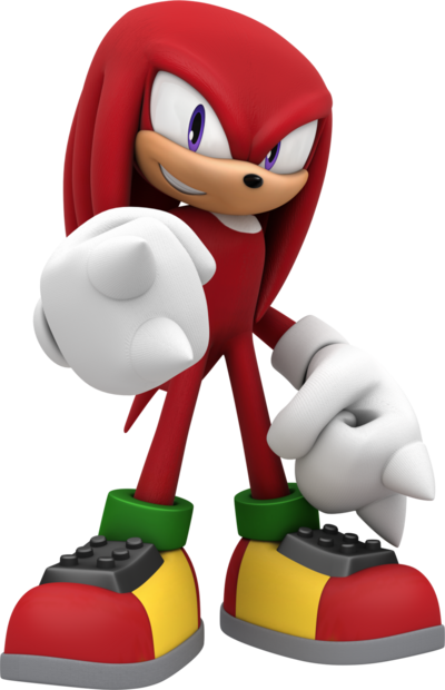 Knuckles the echidna by mintenndo-d83niyh