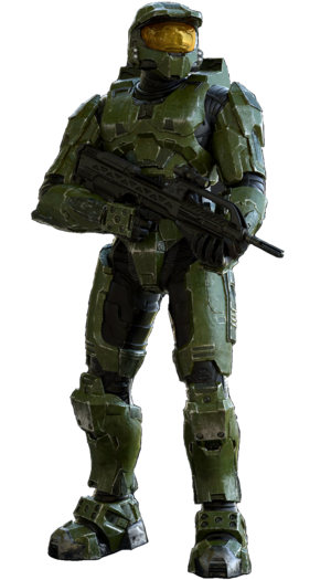 Master Chief Halo 2 Render