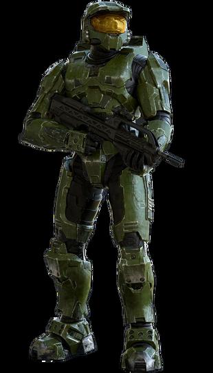 Master Chief Halo 2 Render