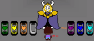 Asgore Pixels with Souls