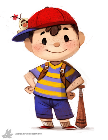File:Daily painting 765 ness for muh friend by cryptid creations-d8b97r0 (1).png
