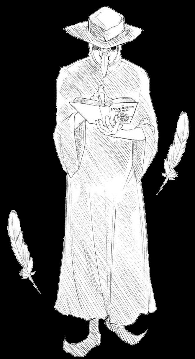 Nostradamus (Petals of Reincarnation) | VS Battles Wiki