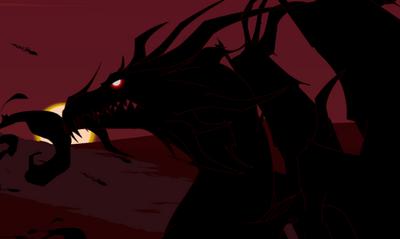 What about alduin vs this dragon here the super ultra 74f46f7348191472c57bf11e95e96870