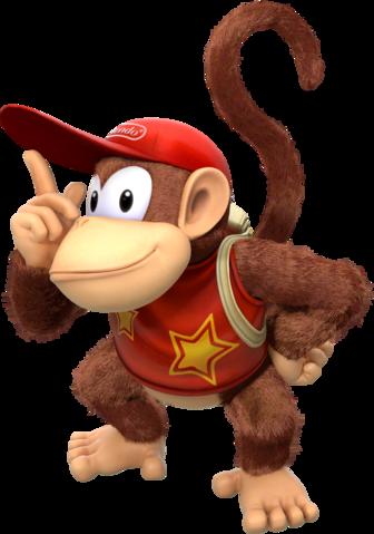 NotAMarioFan Diddy Kong