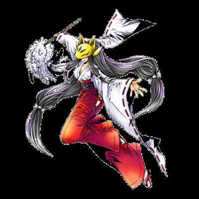 Sakuyamon miko crusader