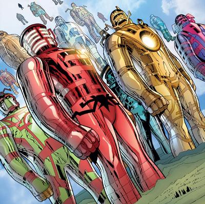 Celestials Uncanny X-Men Vol 1 3