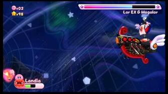 Kirby's Return to Dreamland Boss 17 - Lor Starcutter EX