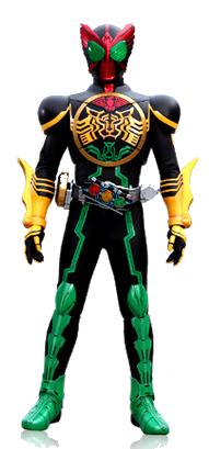 Kamen Rider OOO render