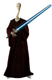 Star Wars Yarael Poof (Render)