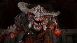 Doom Cyberdemon Boss Fight