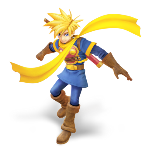 Nibroc-Rock Isaac (Golden Sun)-Smash U
