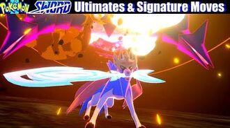 Pokemon Sword & Shield - All Ultimate Attacks & Signature Moves