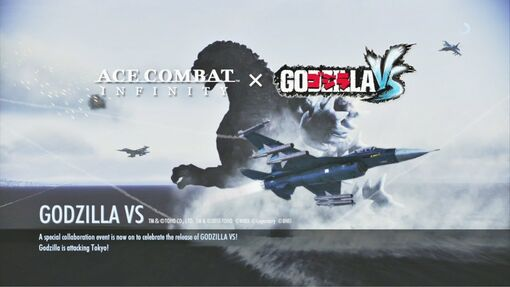 Ace Combat Infinity x Godzilla