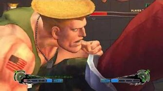 Guile - Flash Explosion