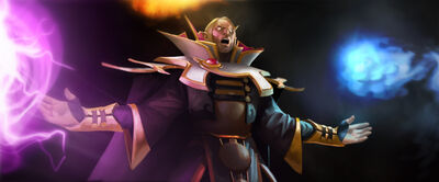 Invoker update splash