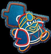 Kirby's Extra Epic Yarn-King Dedede Artwork