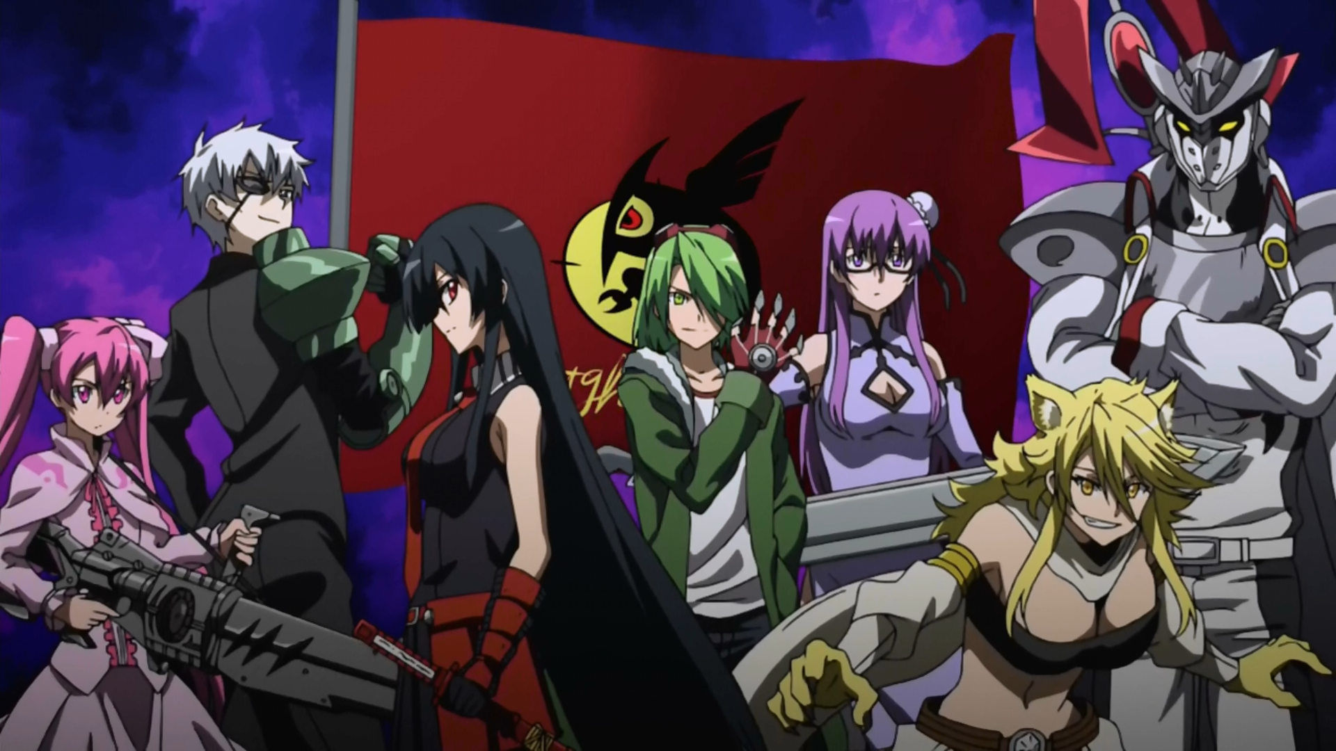 Night Raid Akame Ga Kill VS Phantom Troupe Hunter X