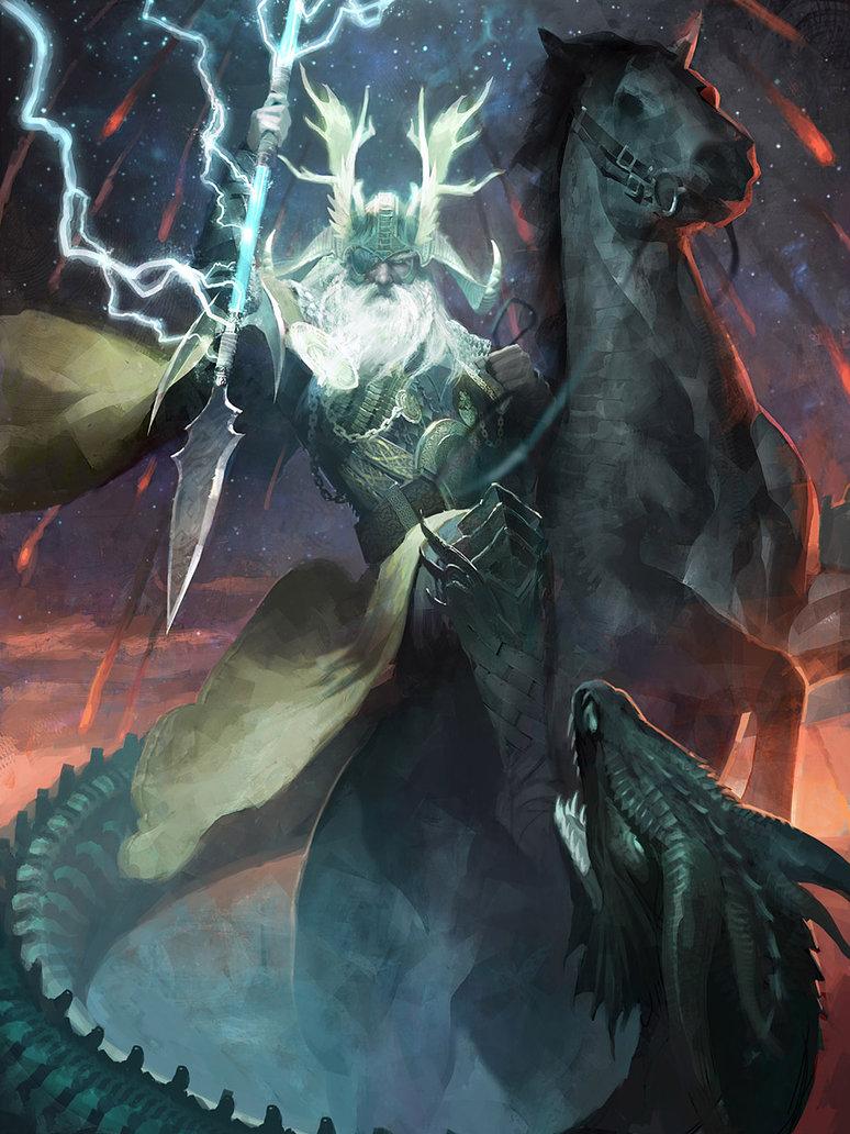 Odin Myth Vs Battles Wiki Fandom Powered By Wikia