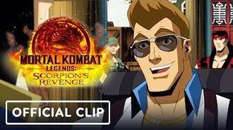 Mortal Kombat Legends Scorpion's Revenge - Official Johnny Cage Clip