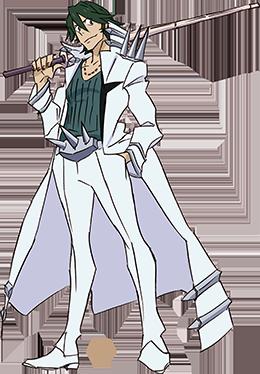 Kill la Kill Uzu Sanageyama (Render)