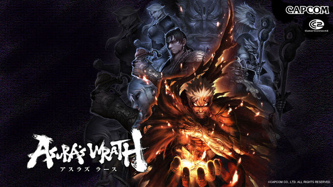 Asuras Wrath Backgrounds Wallpapers