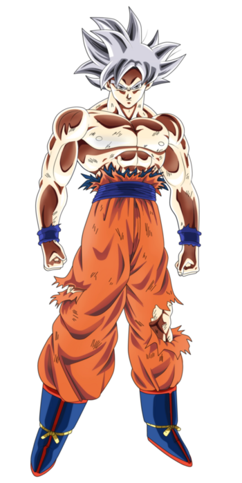 Mastered UI Goku