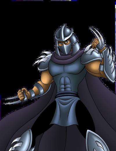 Shredder by mystic forces