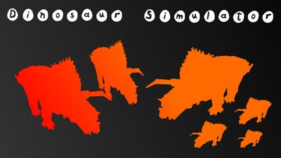 Dinosaur simulator logo