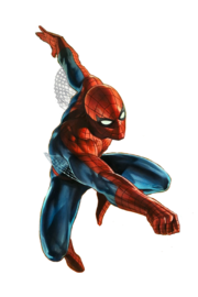 Marvel Comics Spidy render