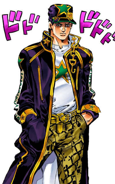 Old Jotaro But The One Nobody Likes