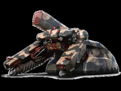 The shagohod tank aka treading behemoth by annihilator79-d61dko0
