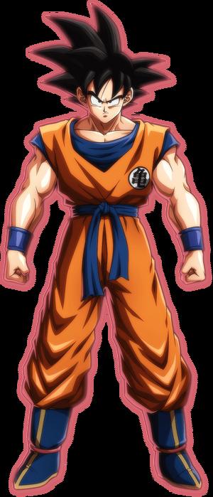 DBFZ Goku Portrait