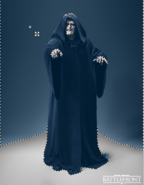 Poor Contrast Darth Sidious Render