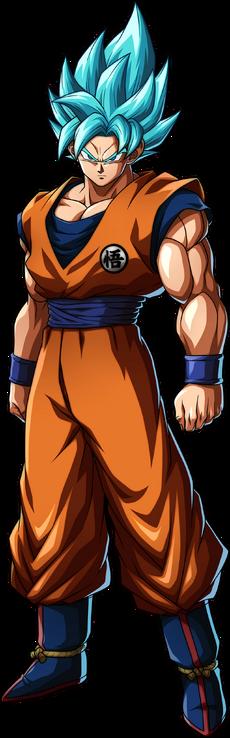 Super Saiyan Blue Goku FighterZ