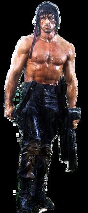 John-Rambo-Sylvester-Stallone Rendered