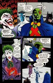 Martian Manhunter vs Joker