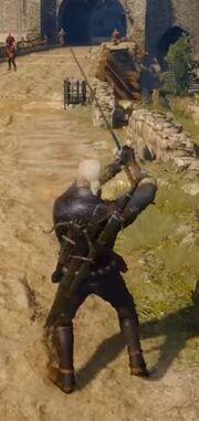 Geralt swing
