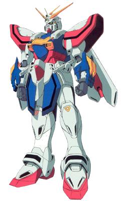 God Gundam - Front render