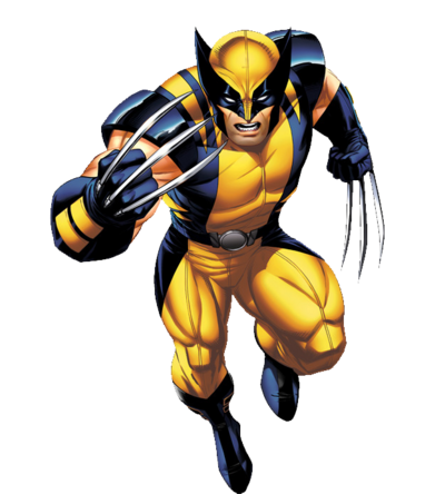 Marvel Comics Wolverine (Render)