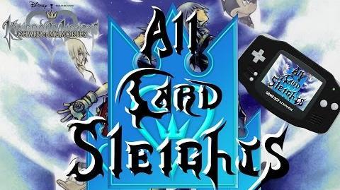 (GBA & PS3) All Card Sleights Bosses, Sora, and Riku ~ Kingdom Hearts Chain of Memories